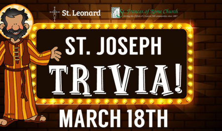 Trivia with Saint Joseph