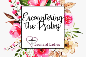 Encountering the Psalms graphic
